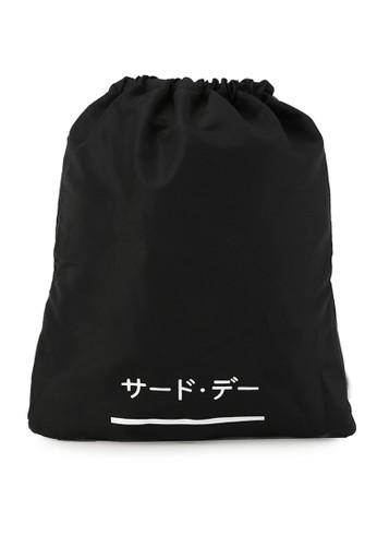 Third Day black Gym Sack Katakana One Line 0DAA8ACDC45083GS_1