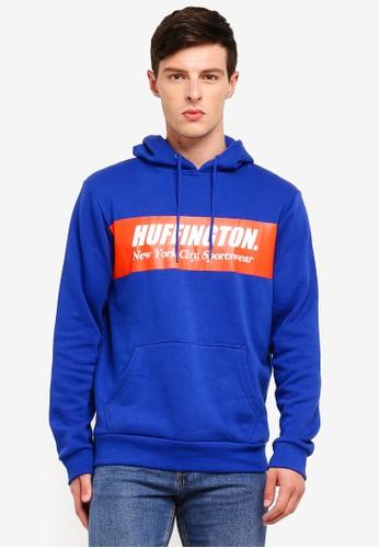 Cotton On blue and multi Fleece Pullover AE04BAA41E7A53GS_1