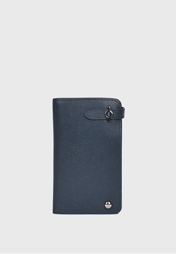 Tocco Toscano blue Lucca Dito Wallet (Navy) TO281AC87ZMQSG_1