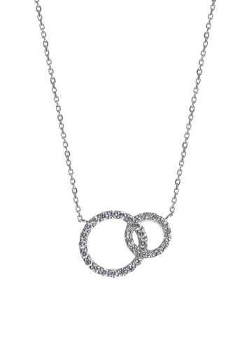 The LoveMark silver Circle of Protection Earring and Necklace TH516AC99UMEPH_1