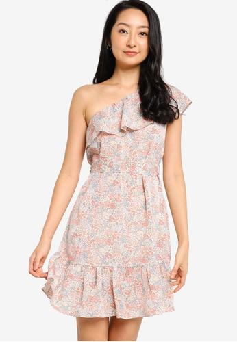 ZALORA BASICS multi Toga Mini Dress BECA4AA50041DFGS_1