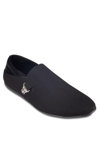 蛇紋拼接帆布esprit 價位懶人鞋, 鞋, 懶人鞋