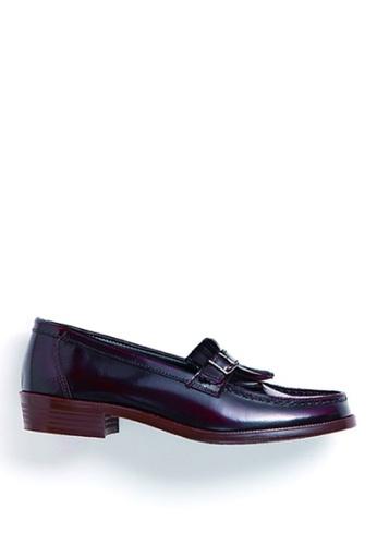 HARUTA brown Belt loafer-232 05EC1SHEF295BFGS_1
