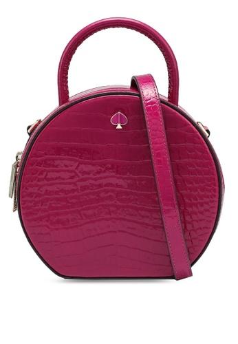 kate spade new york purple Andi Canteen Bag (cv) 8F2C5ACC86485EGS_1