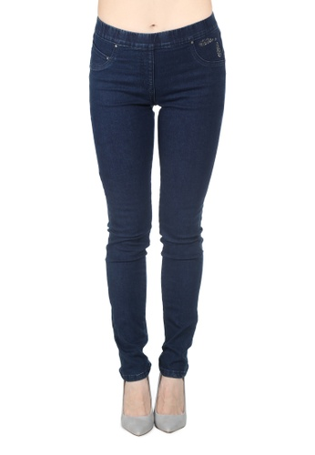 London Rag blue Blue Slim-fit Jeggings 246F5AA44CCEB3GS_1