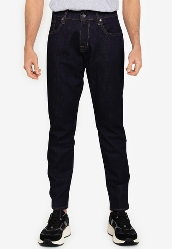 Ben Sherman blue Straight Rinse Wash Jeans 704C1AA5507C9AGS_1