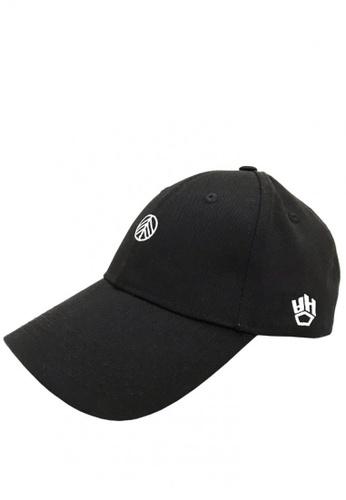 4ff3e34c Chronomart black Japan Crossover Logo Hip-Hop Fashion Baseball Cap  A738EAC76BDC81GS_1