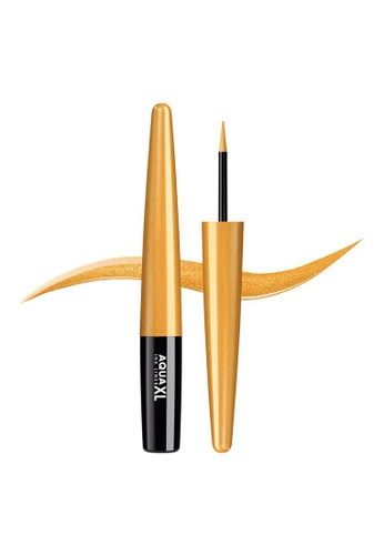 MAKE UP FOR EVER gold AQUA XL INK LINER - Extra Long-Lasting Waterproof Liquid Eyeliner 1,7ML ME-42 D789BBE5101C6CGS_1