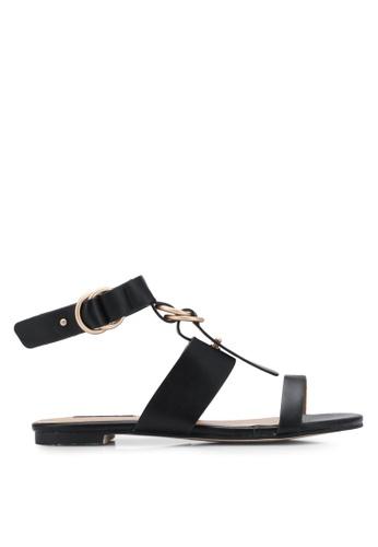 ZALORA black Multi Strap Sandals A4F93SH764A63CGS_1