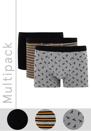 DeFacto grey 3-pack Boxer 99B85USEC56504GS_1