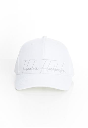 Flawless Flashbacks. 白色 FF白色品牌標誌車花中性潮流帽子 6F4FCACB2E7D34GS_1