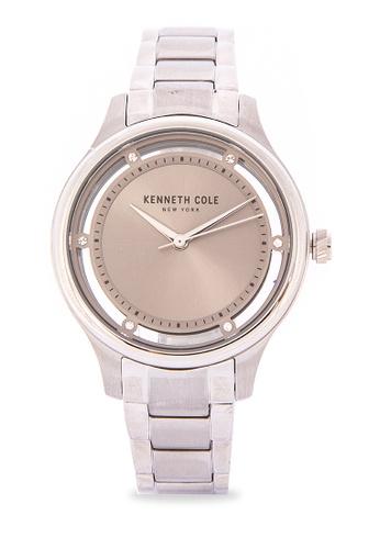 Kenneth Cole Silver Women S Stainless Steel Bracelet Watch D1952acc55e279gs 1