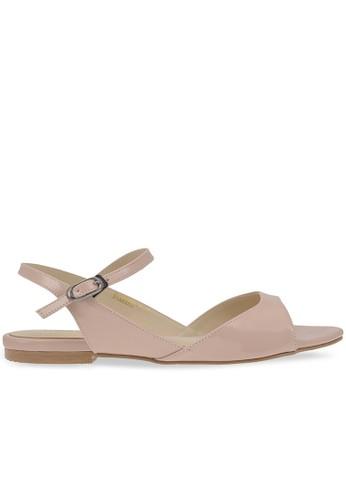 MAYONETTE beige Mayonette Lady Flats - Cream MA831SH0UR4EID_1
