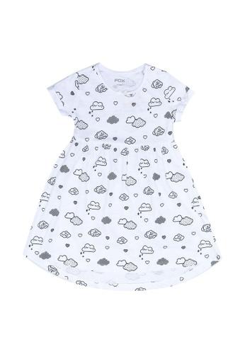 FOX Kids & Baby white Baby Girl Dress B11F3KA90FE02EGS_1