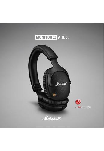 MARSHALL black Marshall Monitor II ANC Bluetooth Headphones 456E3ES301C091GS_1