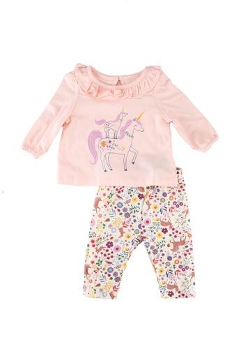 GAP pink Graphic Unicorns Sets 97AD4KA6149B20GS_1