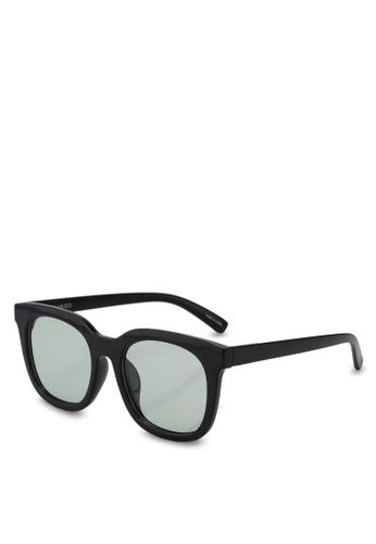 Mango black Acetate Frame Sunglasses F9055GLE7016CBGS_1