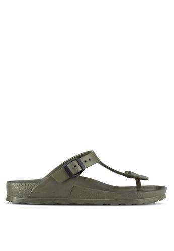 Birkenstock 綠色 Gizeh EVA Sandals BI090SH98JPHMY_1