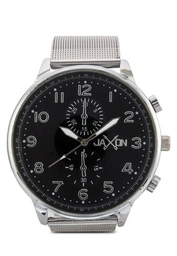 Duke 多錶盤數字錶, 錶zalora 泳衣類, 不銹鋼錶帶