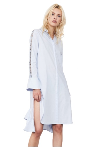 N12H blue Highway Shirt Dress N1377AA0GQIYSG_1