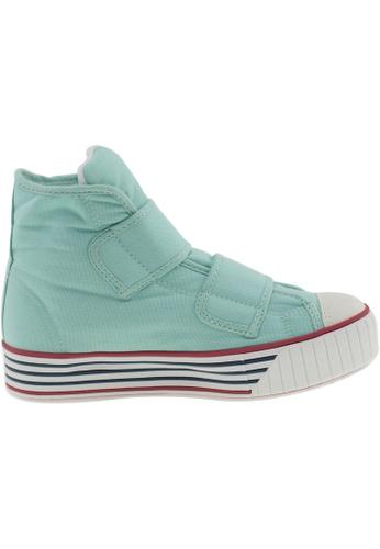Maxstar green Maxstar Women's C30 Dual Velcro Platform Canvas Sneakers US Women Size MA164SH04PUDSG_1
