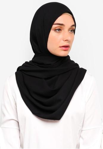 VERCATO black Premium Luxe Satin Shawl FB452AAA33273EGS_1