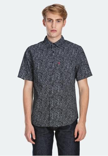 Levi's black Levi's Short Sleeve Classic One Pocket Shirt 86627-0016 FEB4CAAFDE9B3FGS_1