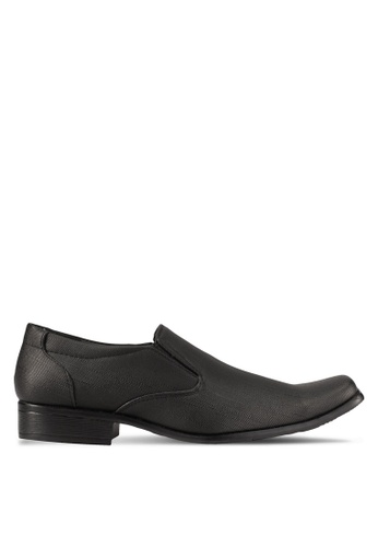 Albertini black Faux Leather Dress Shoes AL779SH0SAWQMY_1