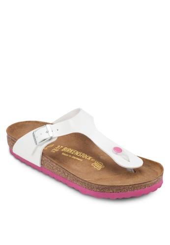 Gizeh 夾腳平底涼鞋zalora 折扣碼, 女鞋, 涼鞋