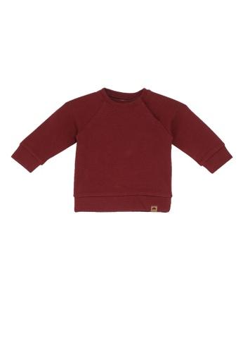 NAME IT red Nilo Long Sleeves Sweatshirt 098A2KA0FE7E35GS_1