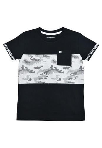 Moose Gear black Boys T-Shirt With Side Pocket 152D4KA6521301GS_1