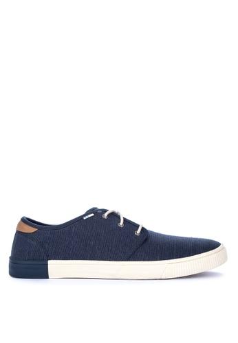 TOMS navy Carlo Sneakers B5A8BSHC990272GS_1