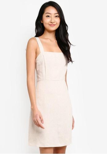 Cotton On beige Woven Krissy Dress AB557AA518444DGS_1