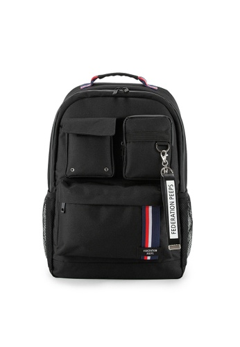 Peeps black Magnum Backpack 20366AC5C9E0FFGS_1