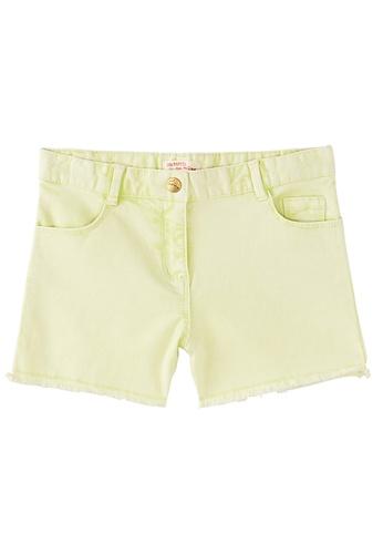 Du Pareil Au Même (DPAM) yellow Denim Shorts CA82EKA7D3F4BBGS_1