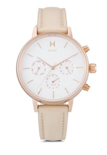 MVMT pink MVMT Nova Watch - Luna MV187AC0SZPNMY_1