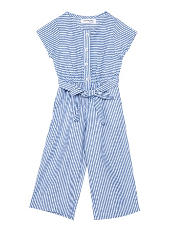 Mommy & Me by Great Kids multi Short Sleeves Jumpsuit with Belt 26973KA8F7F2C8GS_1