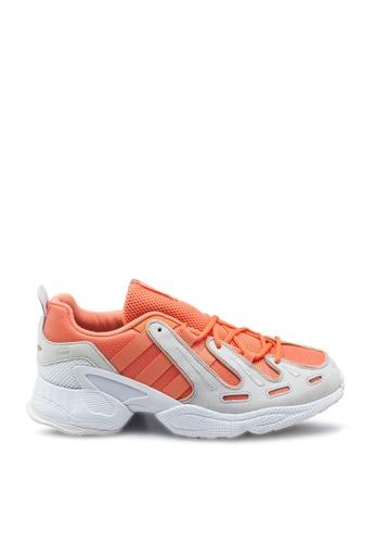 ADIDAS white and orange eqt gazelle shoes AFB7DSHC301D52GS_1