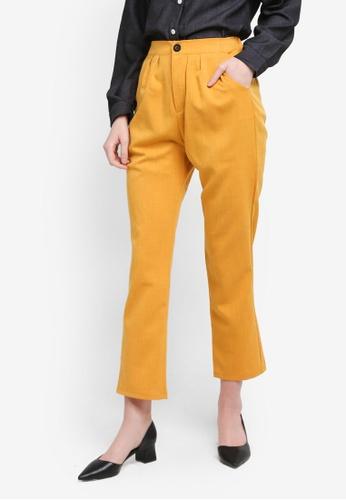 BYN yellow Harem Pants C739DAAE255E10GS_1