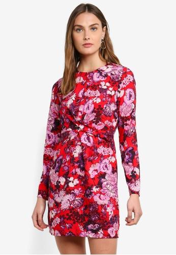 Vero Moda red Marlene Short Dress CE1D7AACB0E1F6GS_1