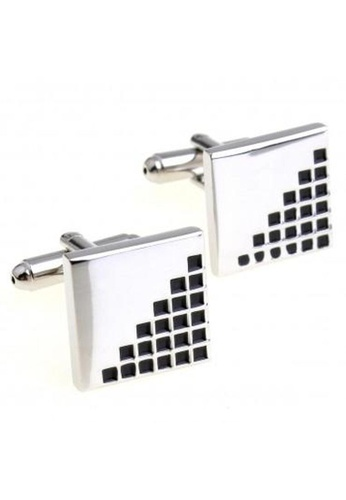 The Little Link Cufflinks black Ladder cufflinks TH089AC0GM13SG_1