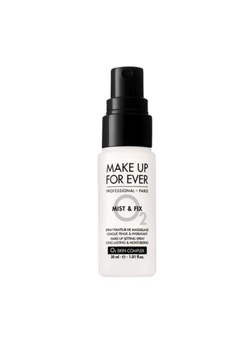 MAKE UP FOR EVER white MIST & FIX SETTING SPRAY - TRAVEL SIZE 30ML C3D33BE4828FDCGS_1