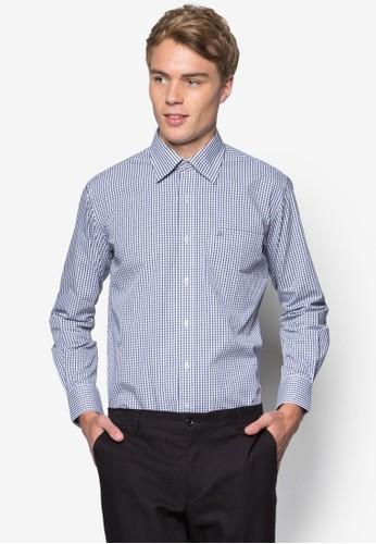 格紋長袖襯衫, esprit outlet 香港韓系時尚, 梳妝