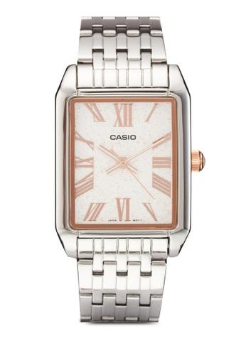 Casio silver Casio Men's Quartz Analog Watch CA843AC16SQHMY_1