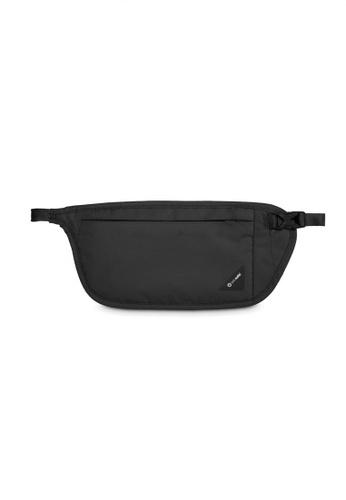 Pacsafe black Pacsafe Coversafe V100 RFID Blocking Waist Wallet (Black) 99B8EAC7145C09GS_1