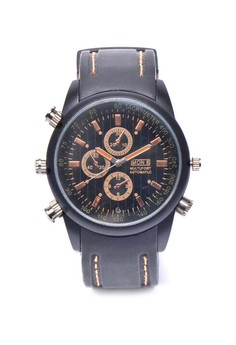Casual Watch With Video Camera - Bronze
