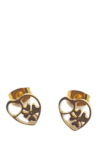 Jewelplace Gold Stainless Steel Earrings 1fce2ac8af0c25gs 1