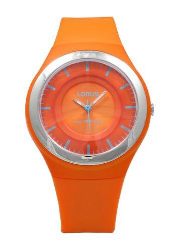 Lorus orange LORUS Jam Tangan - Orange Silver - Silicon - RRX45DX9 1F4EFAC7B7E84DGS_1