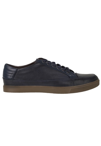 Tomaz blue Tomaz C279 Leather Perforated Sneakers (Navy) 0838BSH68156A7GS_1