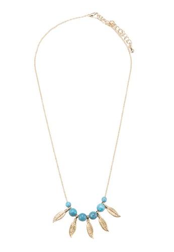 Judith 葉子彩石項鍊, 飾esprit專櫃品配件, 飾品配件